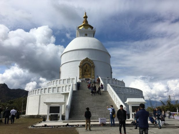 World Peace Stupa, Pokhara