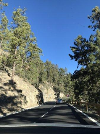 Drive from Los Cristianos to el Teide