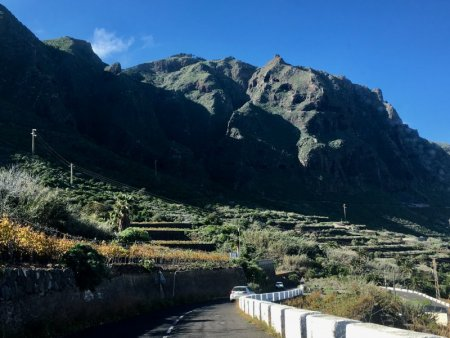 Driving around Tenerife