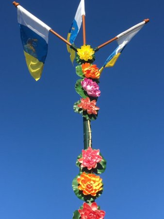 Flags in Arona, Tenerife