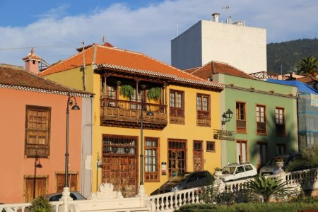 Houses in La Orotava, Tenerife