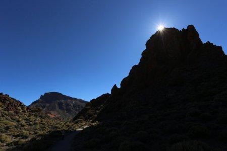 Mount Teide National Park lava landscape