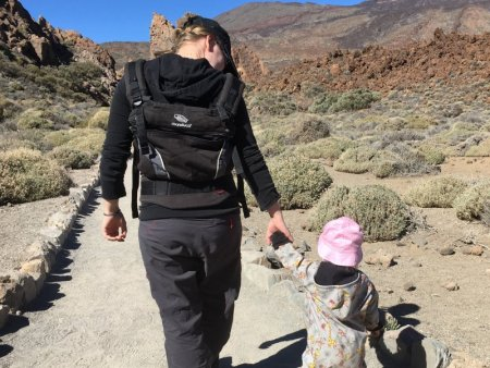 Roques de Garcia family hike, Tenerife