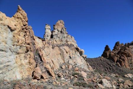 Roques de Garcia lava flow La Cascada