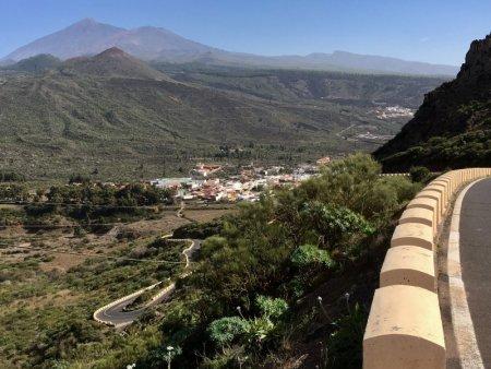 Santiago del Teide from Masca road