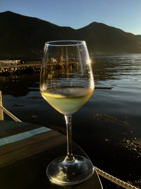Chardonnay and Kotor Bay