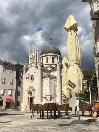 Herzeg Novi old town square