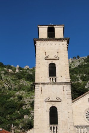 Kotor cathedral tower