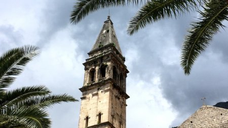 Perast church tower