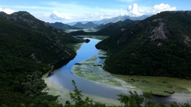 Rijeka Crnojevica and the Green Pyramid, Lake Skadar