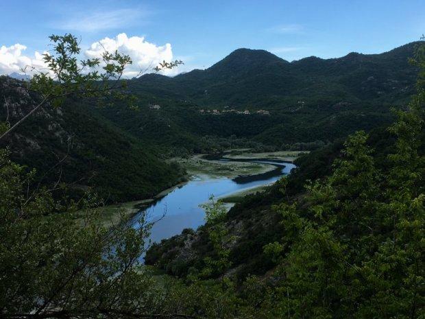 Rijeka Crnojevica river, Lake Skadar National Park