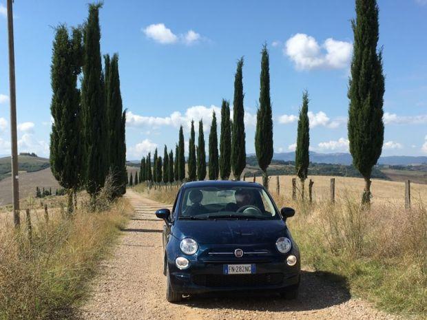 Italy by train and car: Crete Senesi
