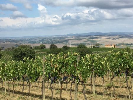 Italy by train and car: driving around Tuscany