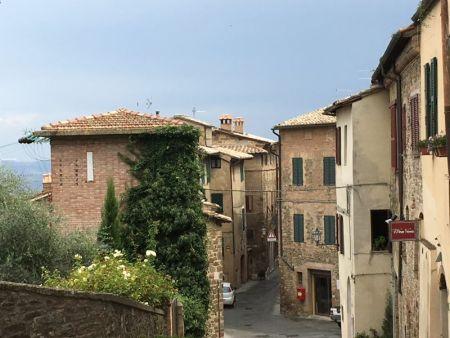 Touring Tuscan wine villages by rental car: Montalcino