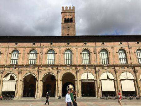 Palazzo del Podesta, Piazza Maggiore, Bologna