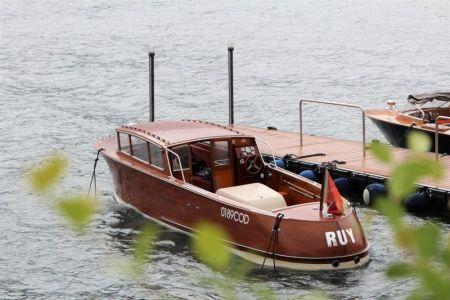 Boat in Menaggio, Lake Como