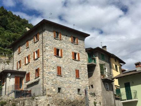 Brienno village, Lake Como