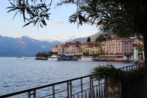 Ferry trip to Bellaggio, Lake Como