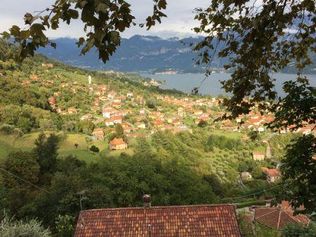 Lago di Como hillside from Sacro Monte di Ossuccio