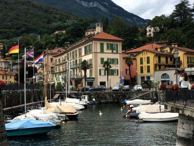 Menaggio harbor, Lake Como