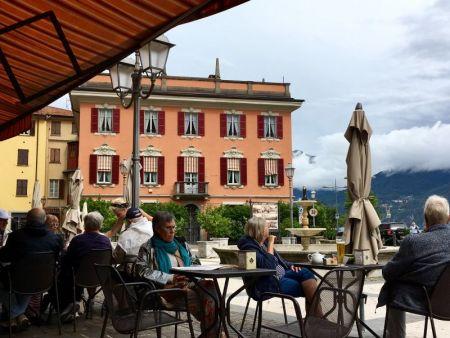 Menaggio square, Lake Como