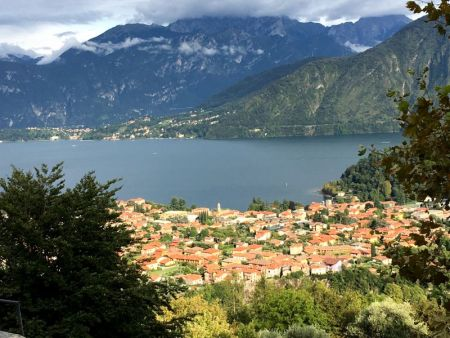 Monasterio Ossuccio view to Lake Como