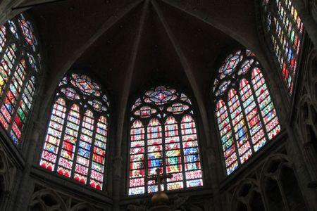 St Baafskathedraal dome, Ghent, Belgium