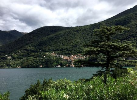View across Lake Como,Italy