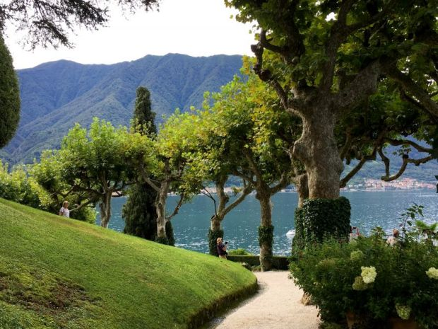 Lake Como weekend: Villa del Balbianello garden