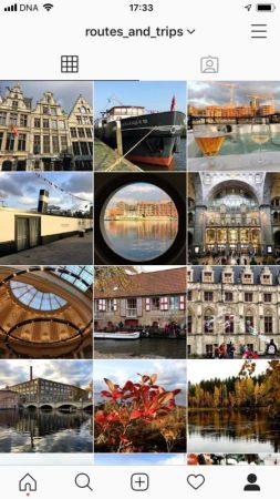 Routes and Trips Instagram