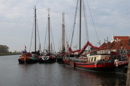 River cruising through Belgium and the Netherlands: Zierikzee harbor