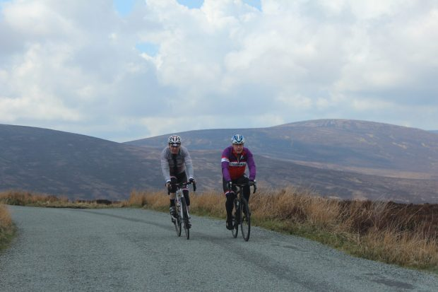 Cycling the Wicklow Mountains, Ireland