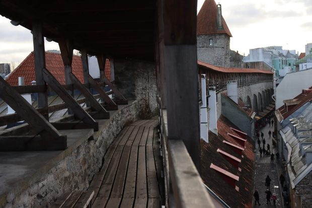 Hellemann Tower walkway, Tallinn