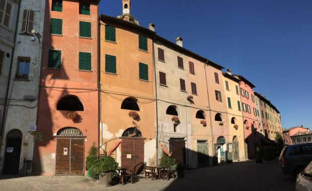 One of Italys prettiest villages: Brisighella, Emilia Romagna