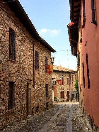 Castell'Arquato hilltop village, Italy