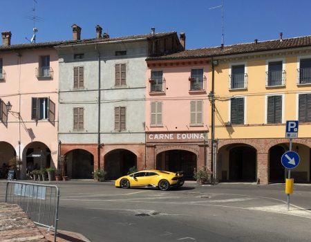 Piazza di Fontanellato, Emilia Romagna