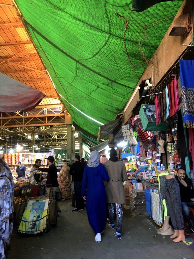 Agadir's main bazaar Souk el Had