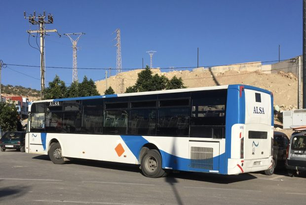 Bus from Agadir to Taghazout