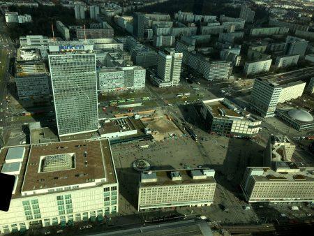Alexanderplatz, Berlin from the Fernsehturm
