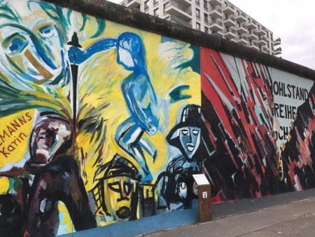 Berlin Top Ten sights: East Side Gallery