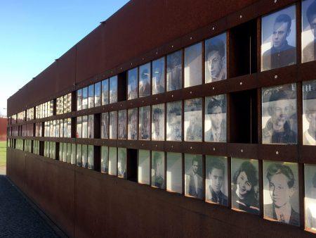 Memorial at the Gedänkstette Berliner Mauer