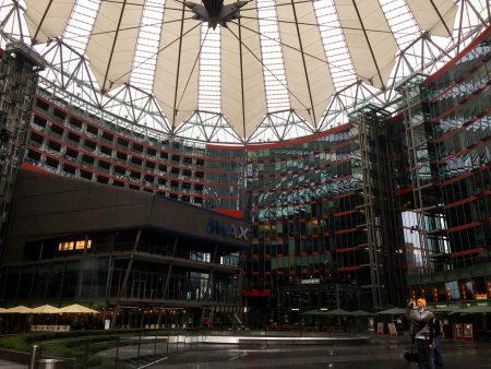 Sony Building, Potzdamer Platz