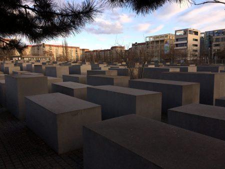 Stones of Berlin Holocaust Memorial