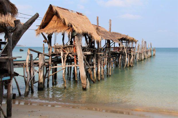 Boat pier on Ko Samet, Thailand