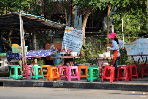 Thai village life: Ban Phe fishing village