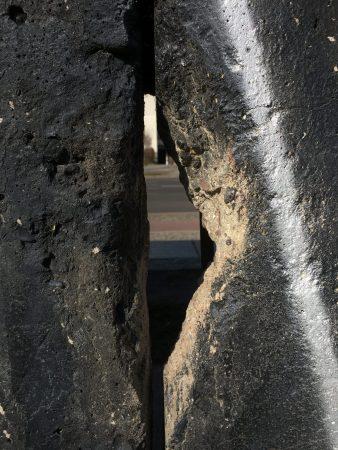 Berlin Top Ten sights: hole in the wall