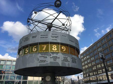 Berlin Top Ten sights: the World Clock