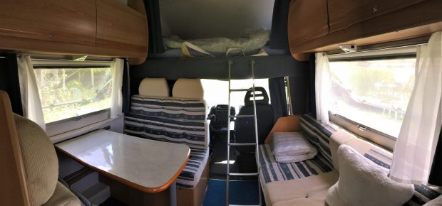Our motorhome, the interior