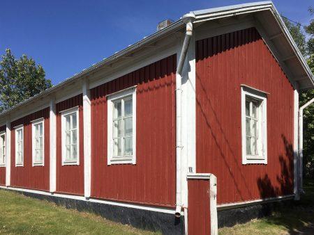 Ostrobothnia road trip in a motorhome: typical Kaskö