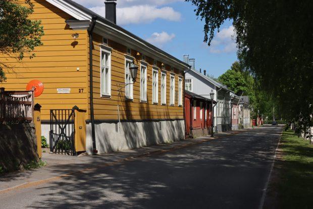 Typical houses of Neristan, Kokkkola